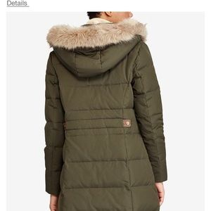 Ralph Lauren fur-down coat